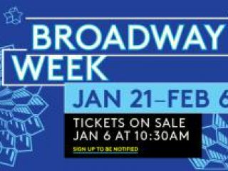 Broadway Week 2 for 1